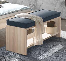 Bettbank Burlington mit pflegeleichter Dekor-Oberfläche