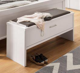 Bettbank Castelli in neutralem Weiß