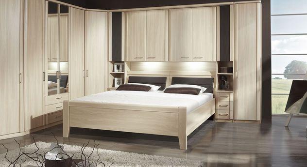 Bettbrücken-Bett Palena mit optionalen Anbau-Elementen