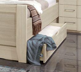Bettbrücken-Bett Palena Schubkästen mit praktischen Griffmulden
