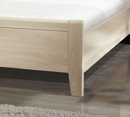 Bettbrücken-Bett Palena mit stylischen Bettbeinen