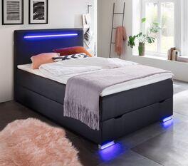 Modernes Bettkasten Boxspringbett Andrik für Jugendliche