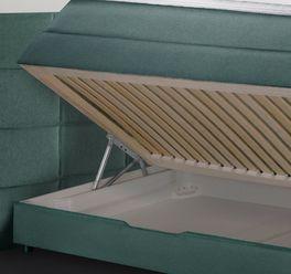 Funktionales und hochwertiges Bettkasten-Boxspringbett Cordilla