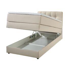 Bettkasten-Boxspringbett Luciano in praktischer Einzelgröße