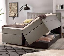 Bettkasten-Boxspringbett Santera mit praktischem Stauraum