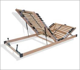 Ergonomischer Bettkasten-Lattenrost youSleep mit Buchenholz-Rahmen