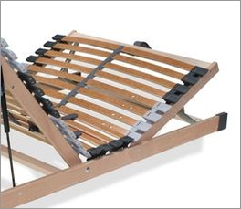 Bettkasten-Lattenrost youSleep mit stabilisierendem Mittelband