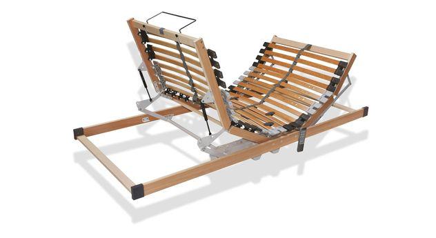 Stabiler Bettkasten-Lattenrost youSleep Motor aus massivem Birkenholz