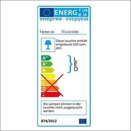 Energielabel zur Bettleuchte Surano