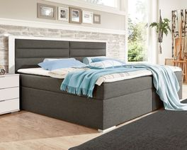 Boxbett Cartini in Boxspring-Optik
