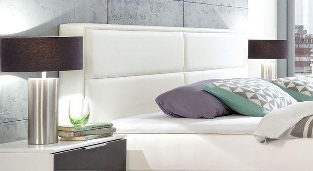Boxbett Sinopoli mit komfortablem Kunstleder-Kopfteil