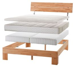 Boxspring-Einlegesystem Kingston für Holz-Bettgestelle
