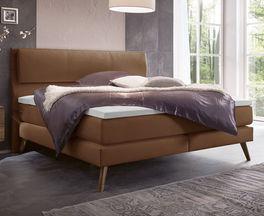 Boxspringbett Espargo mit hochwertigem Bettsystem