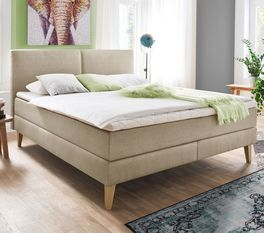 Boxspringbett Jaramillo in moderner Optik