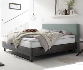 Design-Boxspringbett Mijas im Factory-Look
