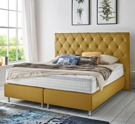 Boxspringbett Overland in Trend-Optik