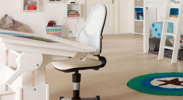 Stufenlos verstellbarer Bürostuhl Original von LIFETIME