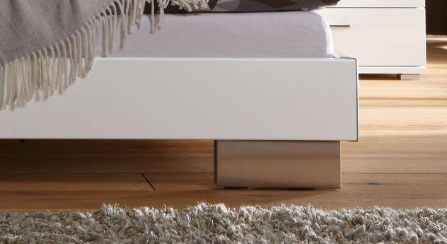 Dekorbett Piceno mit Edelstahl-Füßen