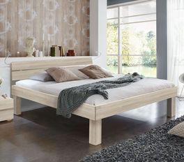 Doppelbett Madrid Komfort mit 16 cm breitem Bettrahmen