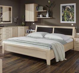 Doppelbett Rapino in charmantem Design