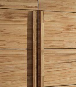 Drehtüren-Kleiderschrank Andalucia mit praktischen Griffleisten