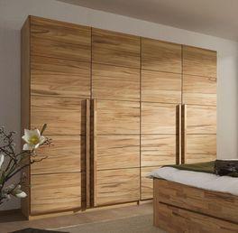 Massiver Drehtüren-Kleiderschrank Andalucia aus Kernbuchenholz
