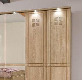 Drehtüren-Kleiderschrank Bloomfield im geradlinigem Design