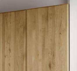 Drehtüren-Kleiderschrank Eichfeld aus robustem Holz