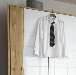 Drehtüren-Kleiderschrank Imst inklusive Passepartout-Rahmen