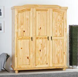 Drehtüren-Kleiderschrank Innsbruck in traditionellem Design