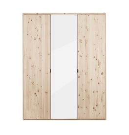 Drehtüren-Kleiderschrank Surat aus hochwertigem Zirbenholz