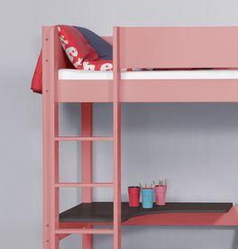Eck-Etagenbett Kids Town Color mit sicherer Leiter