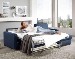 Ecksofa Lelio mit Schlaffunktion als Gäste-Doppelbett