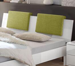 Melierte Einsteck-Kissen Rimini mit robustem Webstoff-Bezug