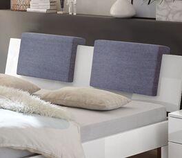 Einfache Anbringung der Einsteck-Kissen Rimini Webstoff Used-Look