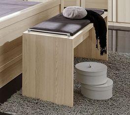 Elegante Bettbank Rapino mit angenehmer Dekor-Oberfläche
