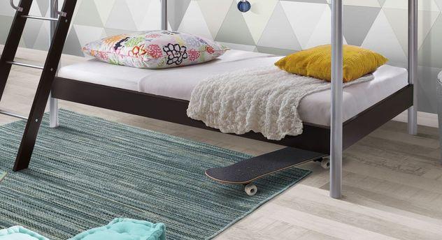 Modernes Etagenbett Finn mit 90x200 cm großen Schlafplätzen