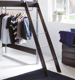 Etagenbett Finns schräge Leiter