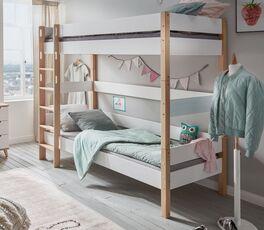 Etagenbett Kids Nordic Girls mit praktischer Bettumrandung