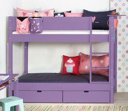 Platzsparendes Etagenbett Kids Town Color in attraktiver Farbe