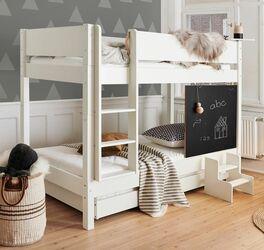 Platzsparendes Etagenbett Kids Town mit Tafel für Kinderzimmer
