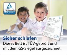 TÜV geprüfte Etagenbetten für Kinder