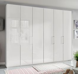 Falttüren-Kleiderschrank Westville im simplen Design-Look