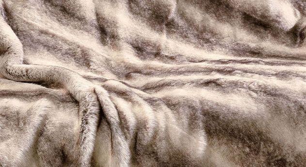 Moderne Felldecke Schlittenhund mit griffiger Oberfläche