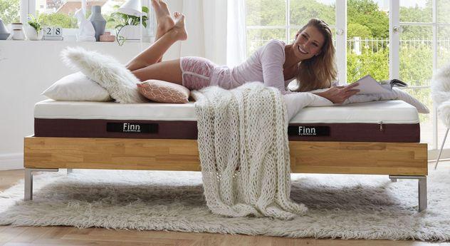 Flexible 4-in-1 Wendematratze Finn bis 130 kg geeignet