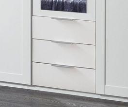 Funktions-Kleiderschrank Aradeo mit Schubladen für zusätzlichen Stauraum