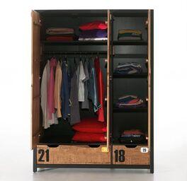 Funktions-Kleiderschrank Beli mit durchdachter Aufteilung
