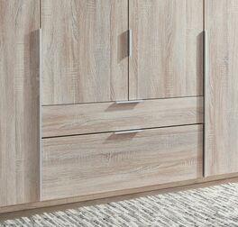 Funktions-Kleiderschrank Coreno mit Drehtüren und Schubladen