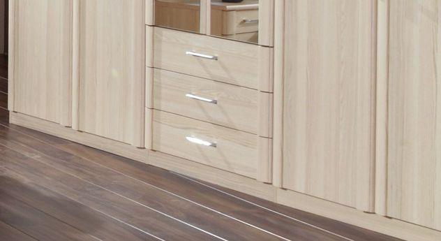 Funktions-Kleiderschrank Rapino mit 3 robusten Schubladen