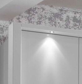 Funktions-Kleiderschrank Salford mit stilvoller Beleuchtung